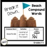 Compound Words BEACH