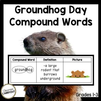 Compound Words GROUNDHOG DAY