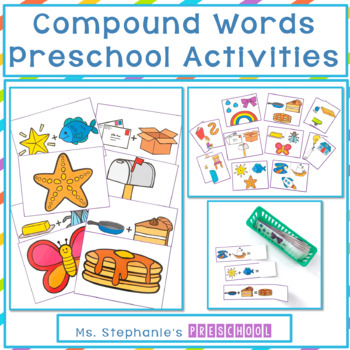 Compound Words Preschool Worksheets & Teaching Resources | TpT