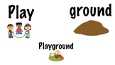 Compound Words Puzzle Activity