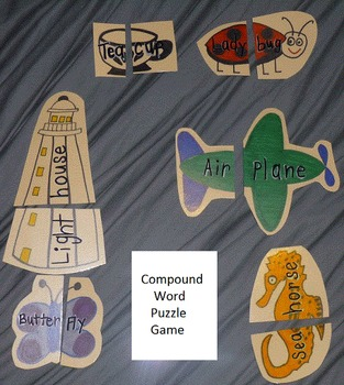 Compound Words Puzzle Game