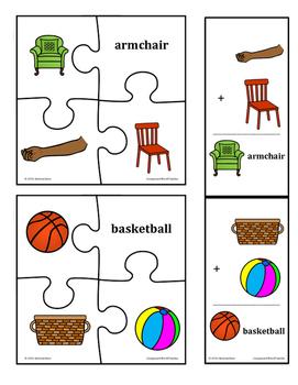 Compound Words - TAS Beginner Font | Writeboards | Children's ...