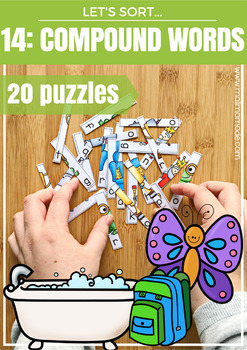 Compound Words Puzzles and Spelling Practice