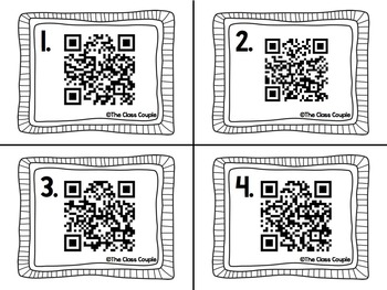 Compound Words QR Code Task Cards