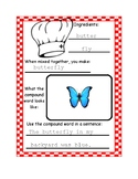 Compound Words Recipe Book with Rubric