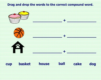 Compound Words SMART Notebook Lesson