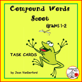 Compound Words  TASK CARDS  Spelling  FUN Game  CORE  Gr 1-2