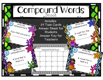 Compound Words Scoot
