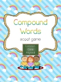 Compound Words Scoot- Common Core Aligned