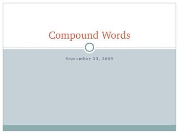 Compound Words Slide Show