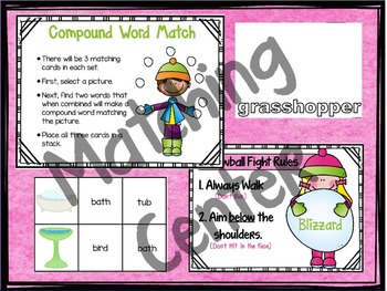 Compound Words | Vocabulary Game