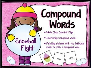 "Compound Words ""Vocabulary Game"""
