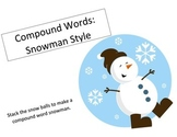 Compound Words Snowman Style