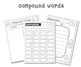 Compound Words Sorting Activity Pack