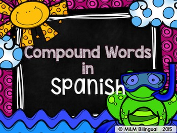 Compound Words {Spanish}