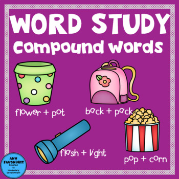 Compound Words Spelling Unit