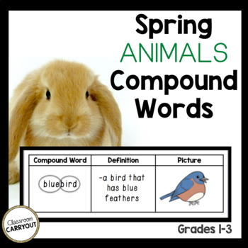 Compound Words Spring Animals Mini