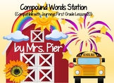 Compound Words Station  (Compatible with First Grade Journ