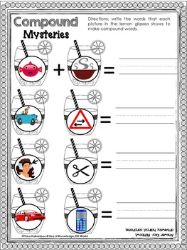 Compound Words {Super Print - 8}