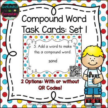 Compound Words Task Cards