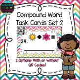 Compound Words Task Cards Set 2