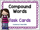 Compound Words Task Cards or Scoot Game