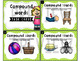 Compound Words Task Cards (with or without QR codes) and Digital Version