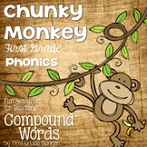 Compound Words- Phonics Unit, Word Work and Literacy Cente