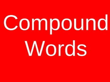 Compound Words To Become One