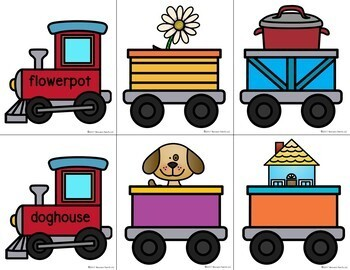 Compound Words Trains Activities
