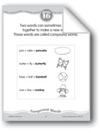 Compound Words: Two words put together