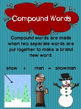 Compound Words Using Snow