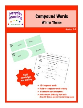 Compound Words Winter Christmas