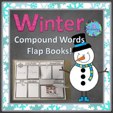 Compound Words Activities - Winter Flap Books! (DOLLAR DEAL)