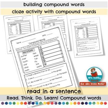 Compound Words | Word Study | Grammar  | [Reading]