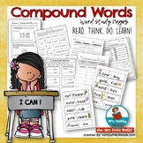 Compound Words - Word Study for [Second and Third Grade- H