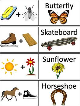 Compound Words Word Wall Cards