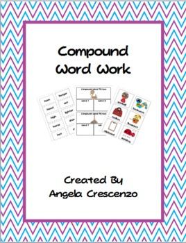 Compound Words Word Work Literacy Center