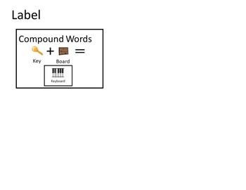 Compound Words  Workbox or File Folder