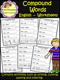 Compound Words - Worksheets - English (School Designhcf)