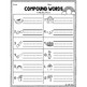 Compound Words: Write the Room