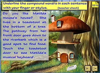 Compound Words - a Smartboard and Interactive Whiteboard lesson