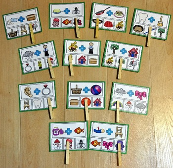 Compound Words and Contractions Task Cards