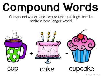 Compound Words {centers, activities, & craftivity!}