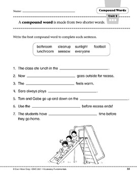 Compound Words: every + one