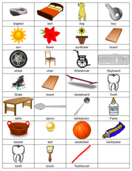 Compound Words (images & words)