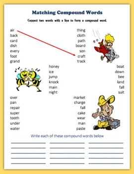 Compound Words in January