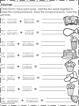 Compound Words in the Kitchen