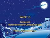 Compound Words/possessive/Comparing Books Theme Gingerbread men