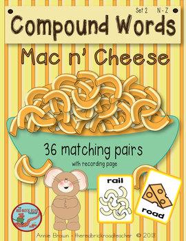 Compound Words with Mac 'n Cheese!